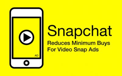 Snapchat Radically Reduces Minimum Buys For Video Snap Ads