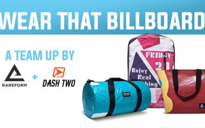 Wear that Billboard! Rareform + Dash Two