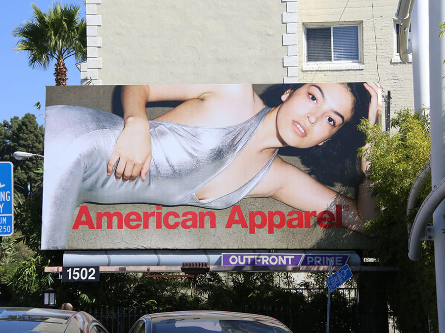 American Apparel Billboard