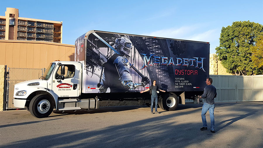 Megadeth Mobile Billboard