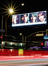 Beatles Night Billboard