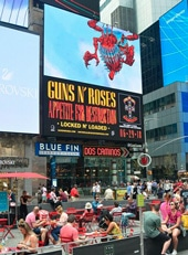 Dash Two Outdoor Ad Marquee