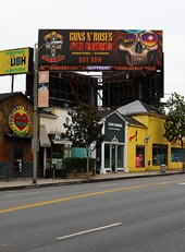 Outdoor Ad Marquee