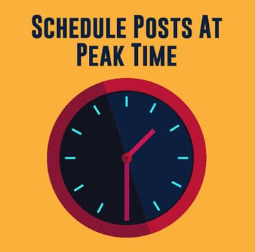 Schedule-a-Post-for-a-Peak-Time