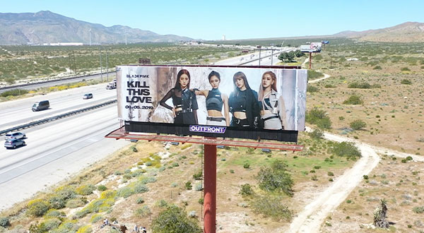 BlackPink - Coachella Billboard