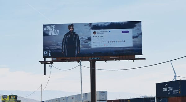 Juice Wrld Coachella Billboard