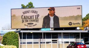 Rodney Atkins – 14' x 48' Digital Billboard