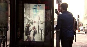 Pepsi Max Augmented Reality Bus Stop Digital Ads – London, UK