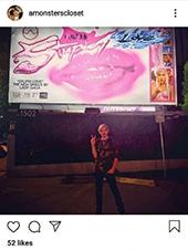 Lady Gaga Sunset Billboard