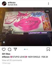 Instagram Lady Gaga Billboard 4