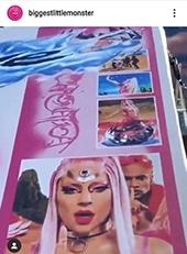 Lady Gaga Instagram Billboards