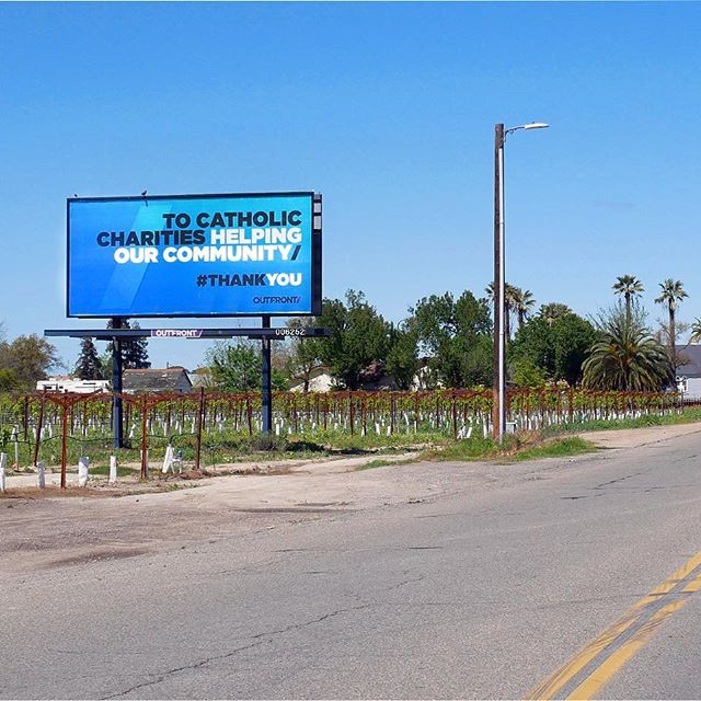 Catholic Communities Outdoor Ads