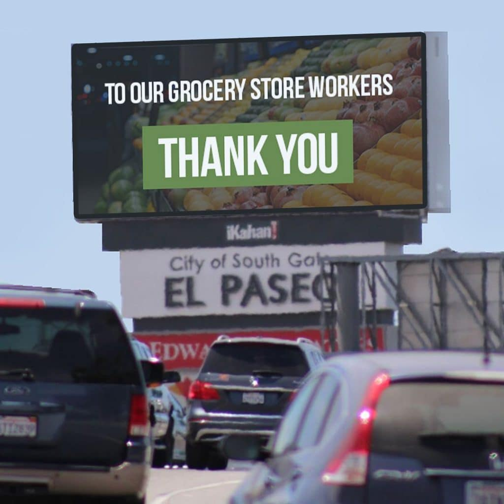 Grocery Store Thank You