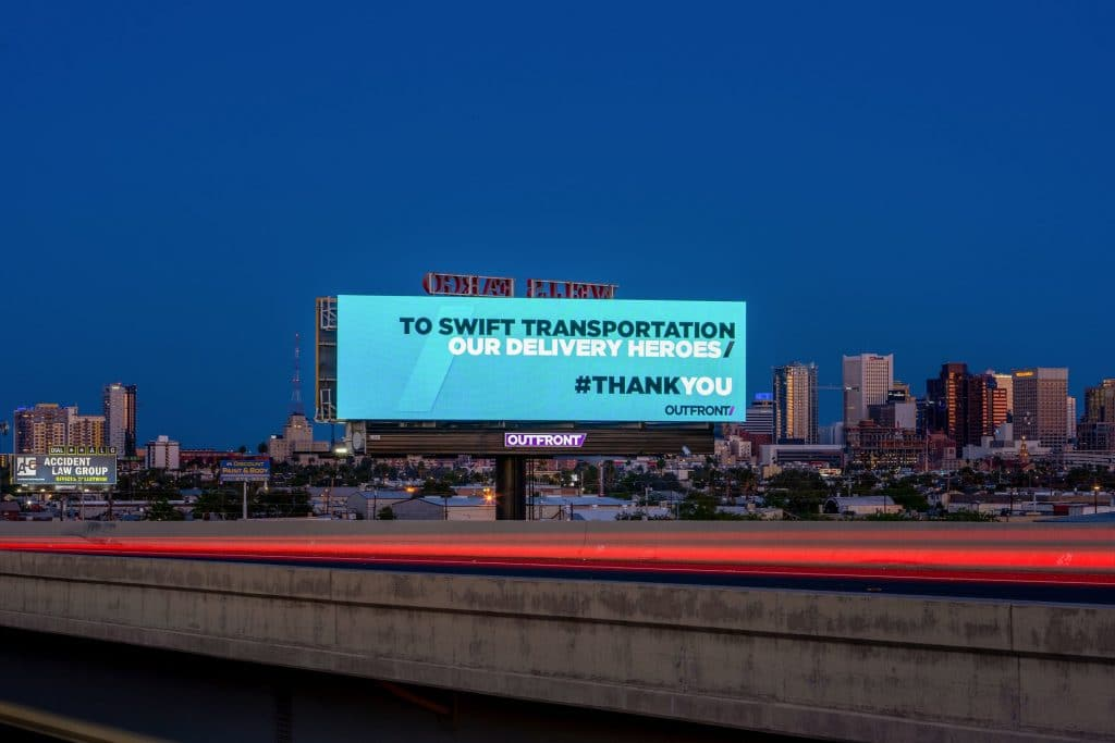 Outfront Outdoor Ad