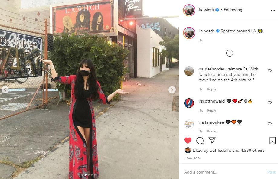 LA Witch Instagram Selfie 2