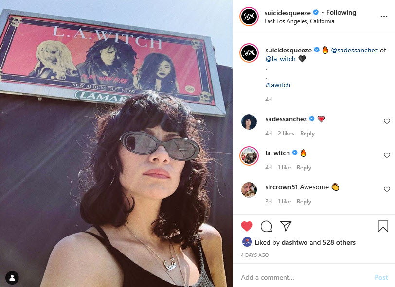 LA Witch Instagram Selfie 3