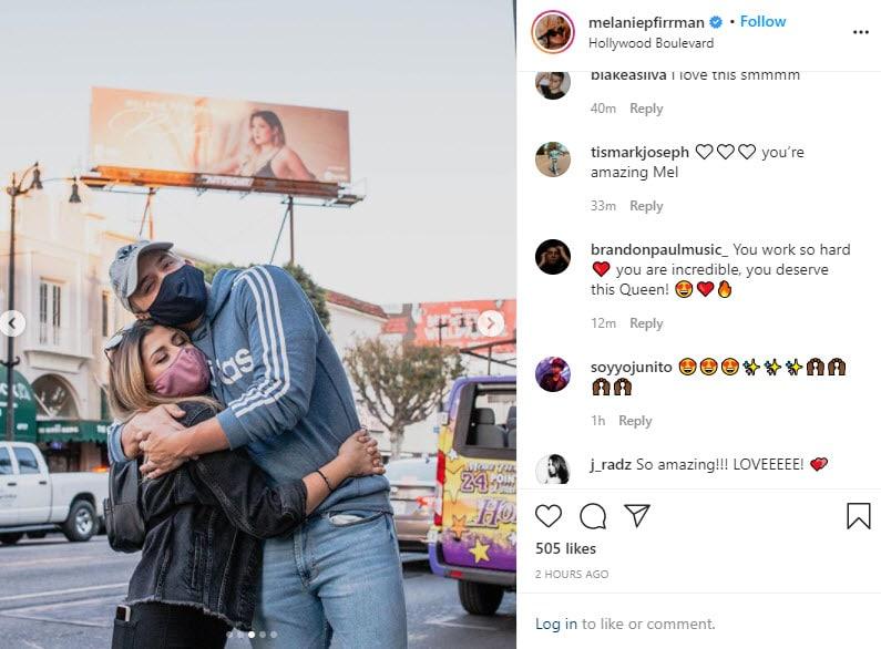 Melanie Pfirrman Instagram Selfie 3
