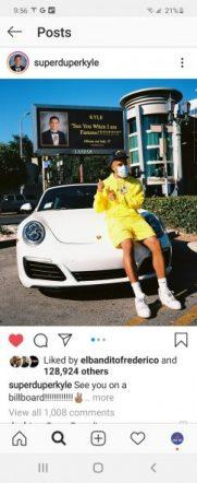 Super Duper Kyle Instagram Selfie