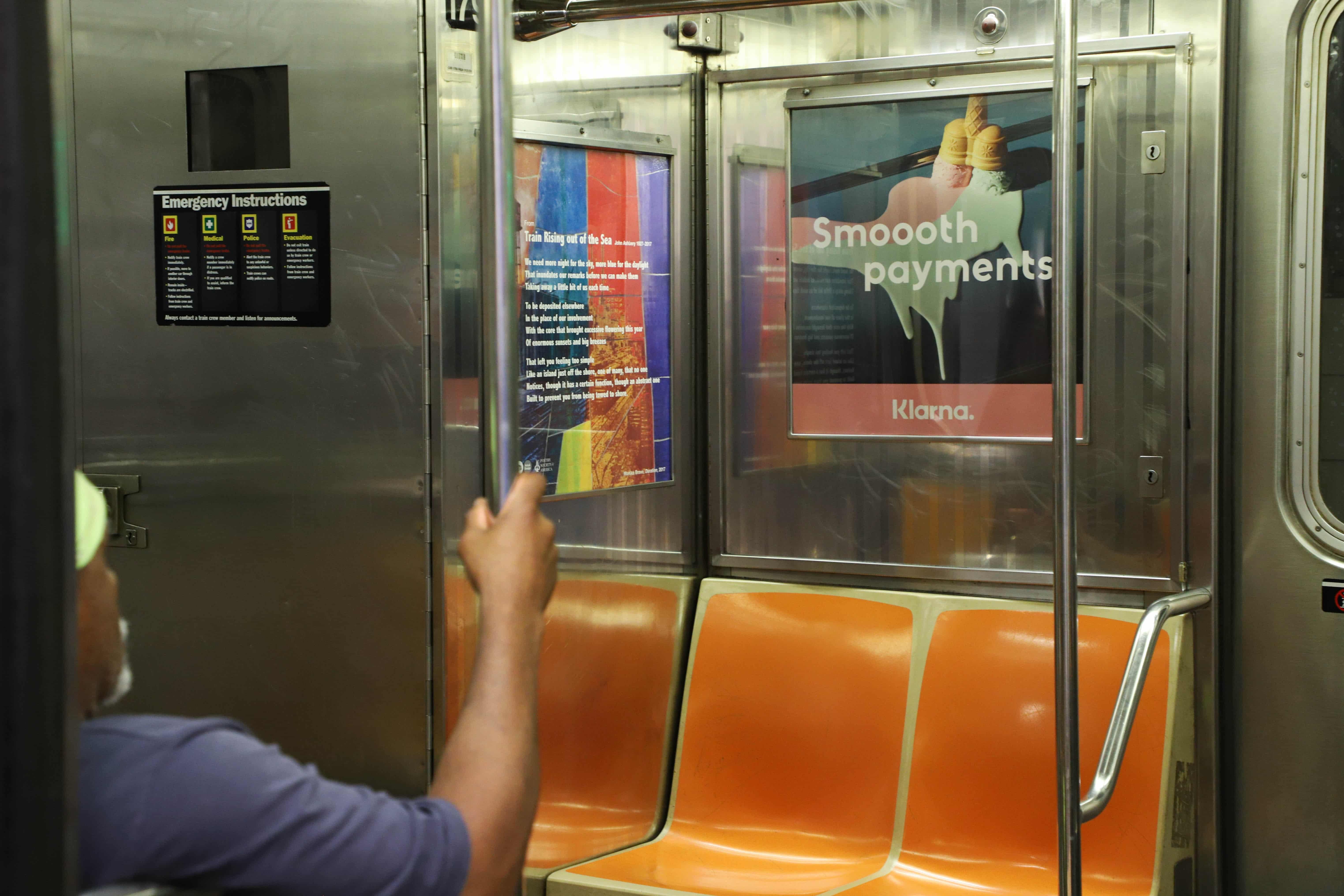 Subway Interior Cards