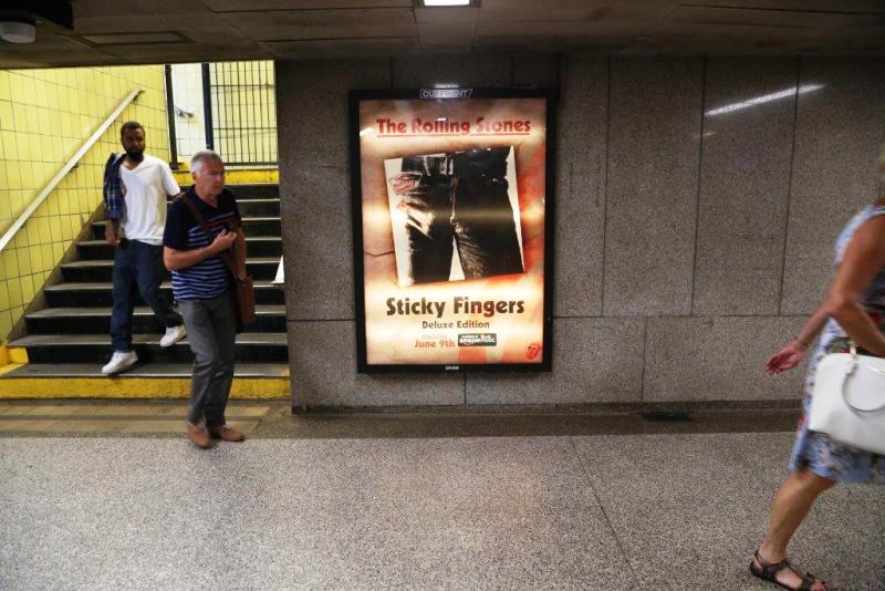 Subway Station Backlit Diorama